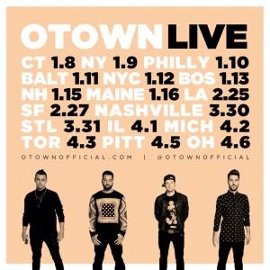 2016 O-Town Tour Dates
